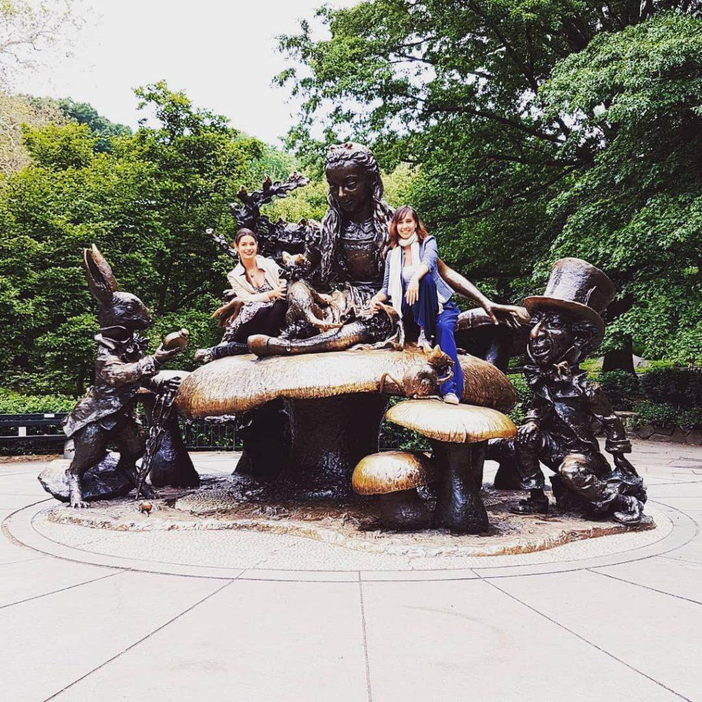przyjaciółki w Central Parku