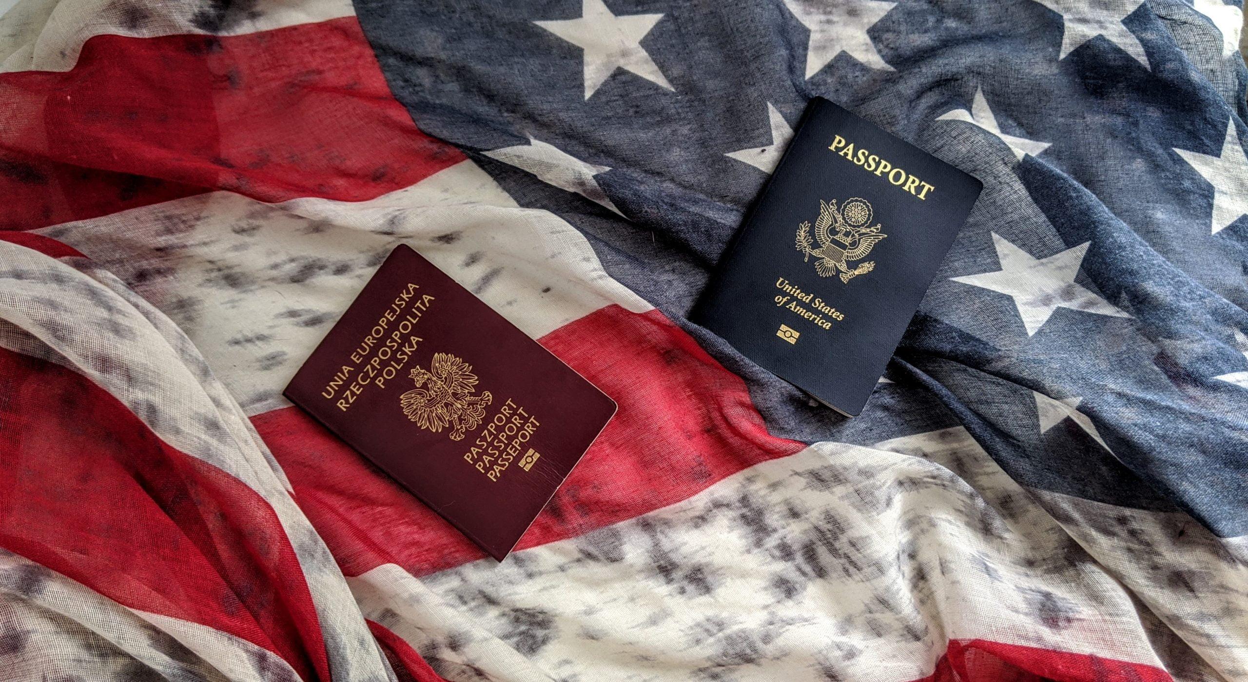 paszport amerykanski