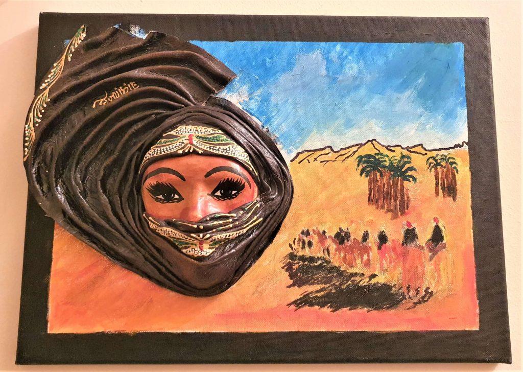 maska z Tunezji