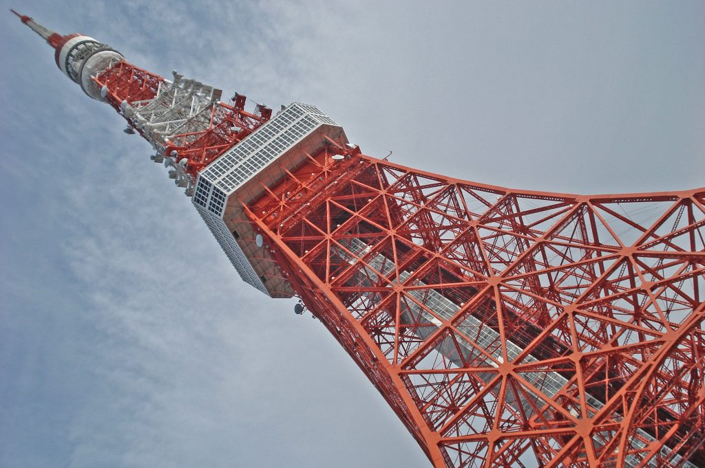wieża tokijska, czarodziejka z księżyca