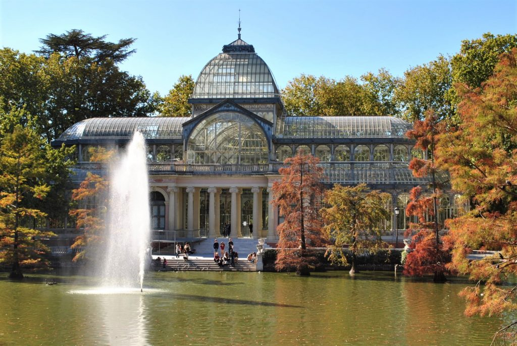 Pałac Kryształowy w parku Retiro