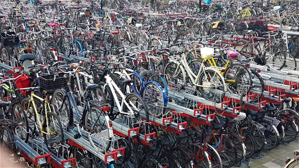 rowery w Amsterdamie