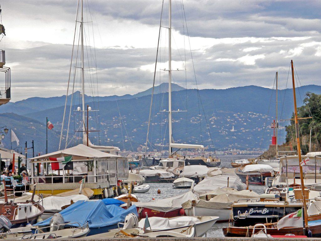 basen jachtowy w Portofino