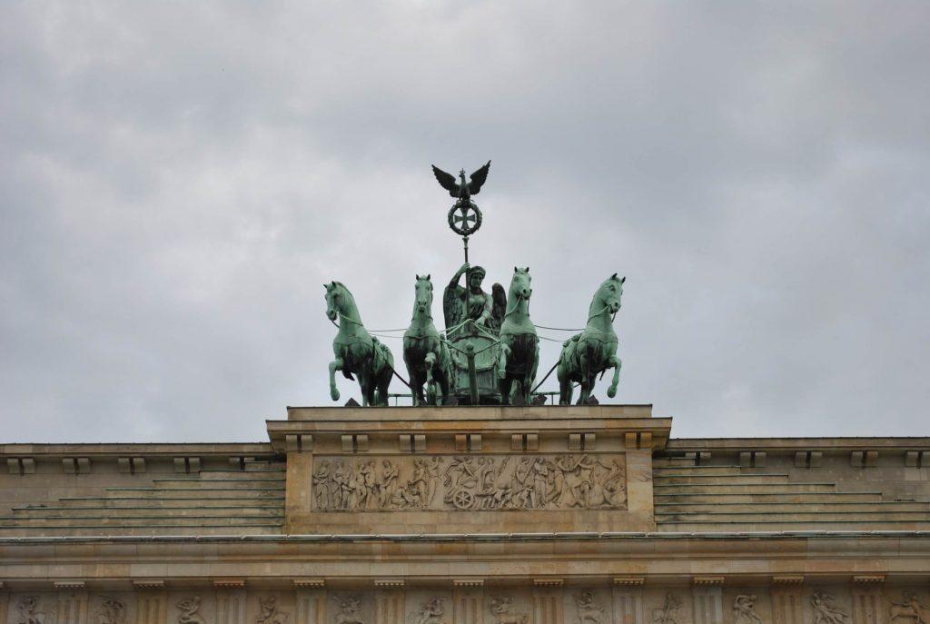 Berlin Brama Brandenburska