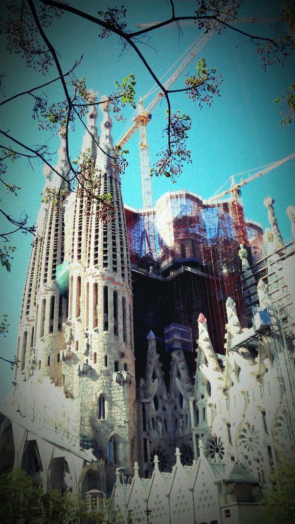 Sagrada Familia budowa