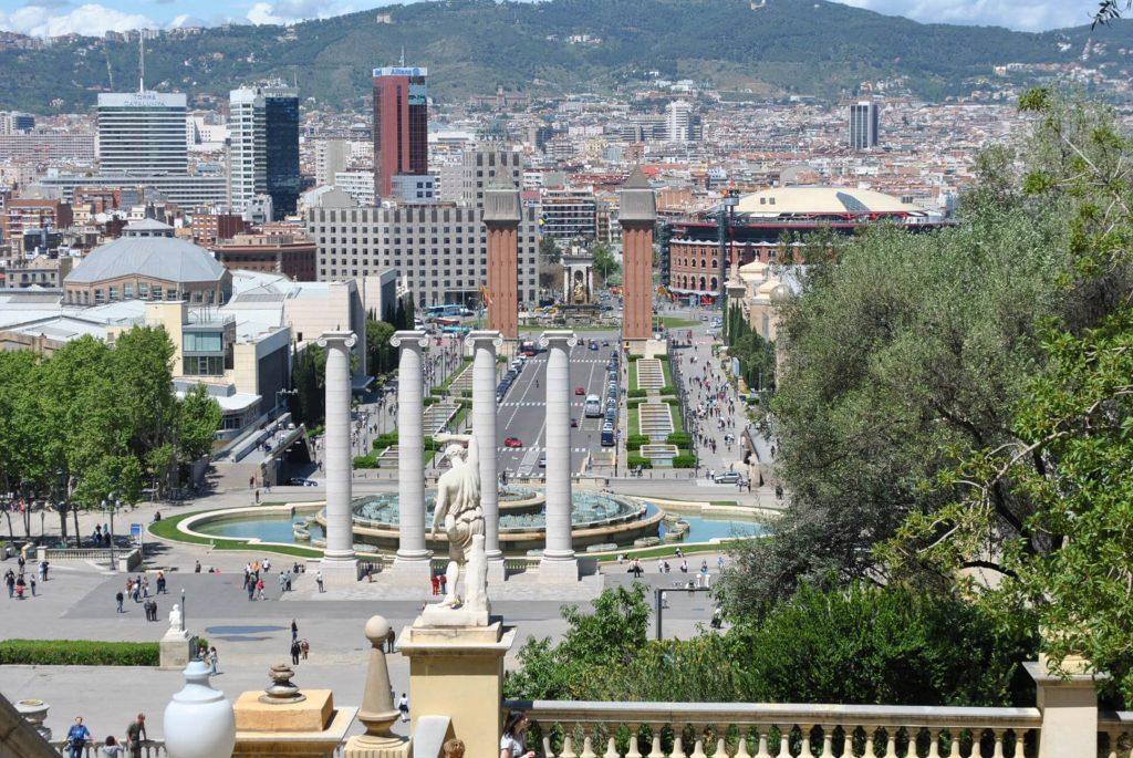 Magiczne fontanny Montjuic
